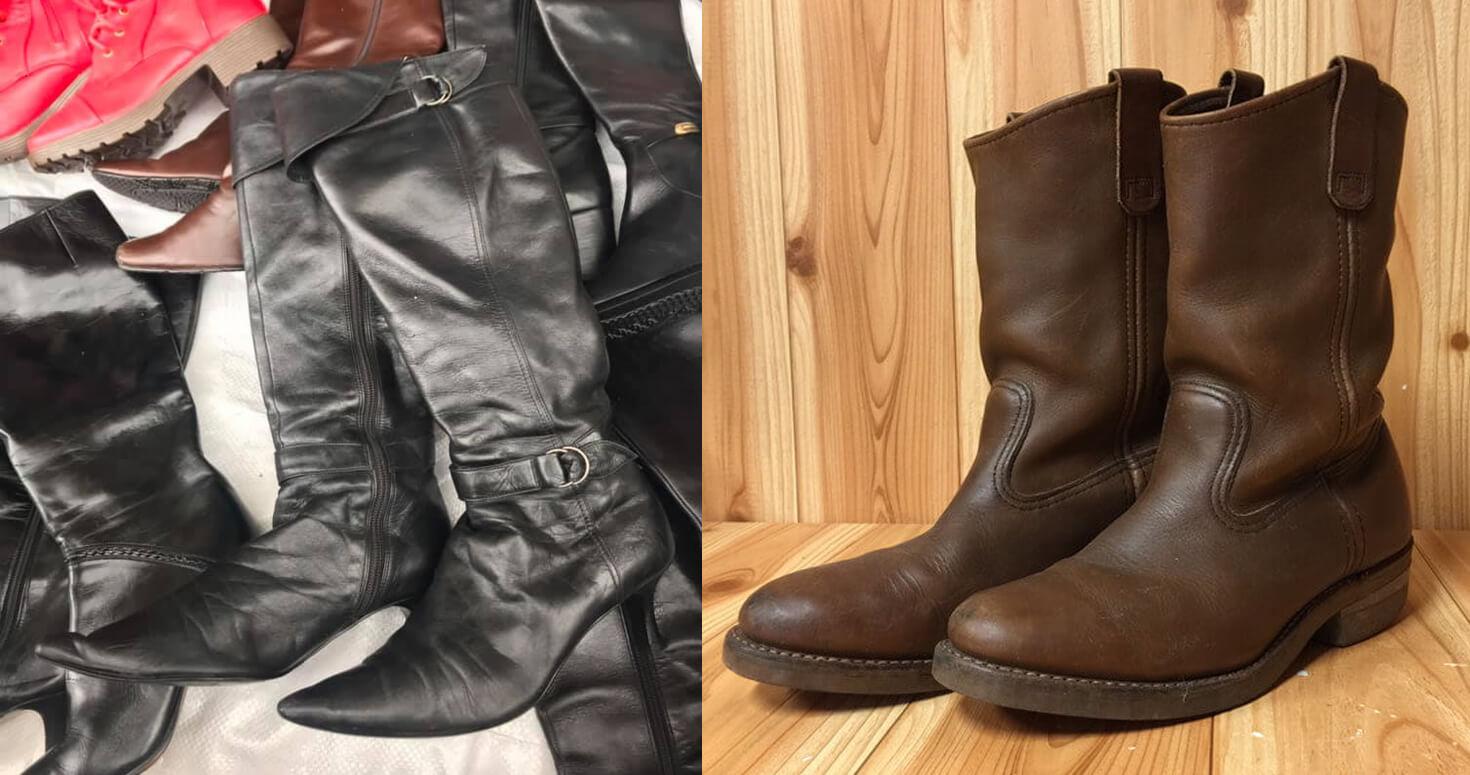 giay boots nu si duoc tuyen chon qua nhiieu khau, da dang chat lieu