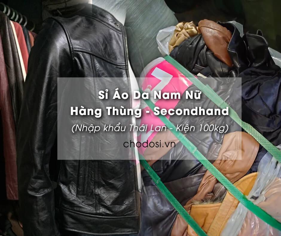 si ao da nam nu hang thung hang secondhand