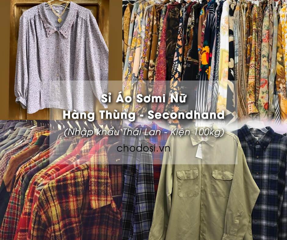 si ao somi nu hang thung secondhand
