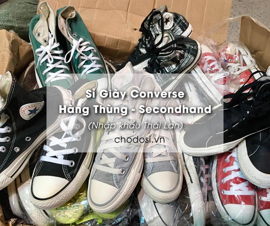 si giay converse hang thung secondhand